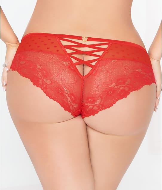 2737960919ed3 Seven 'til Midnight Plus Size Heart Lace-Up Cheeky Bikini | Bare ...