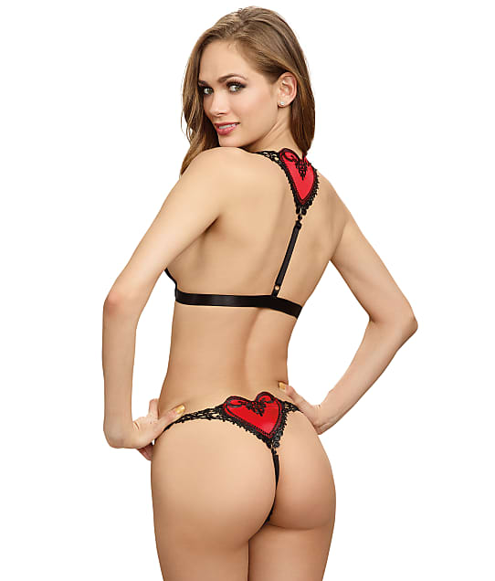 Dreamgirl: Heart Bra & Panty Set