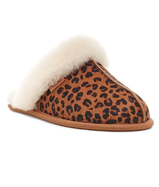 UGG: Scuffette II Leopard Slippers