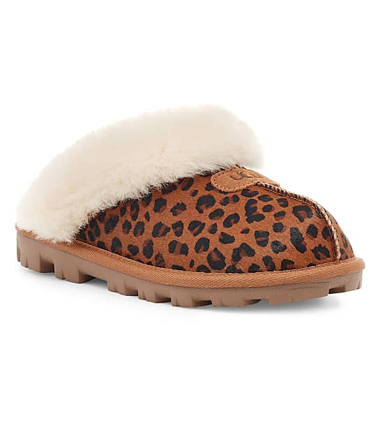 UGG: Coquette Leopard Slippers