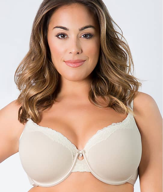 Curvy Couture: Cotton Luxe T-Shirt Bra