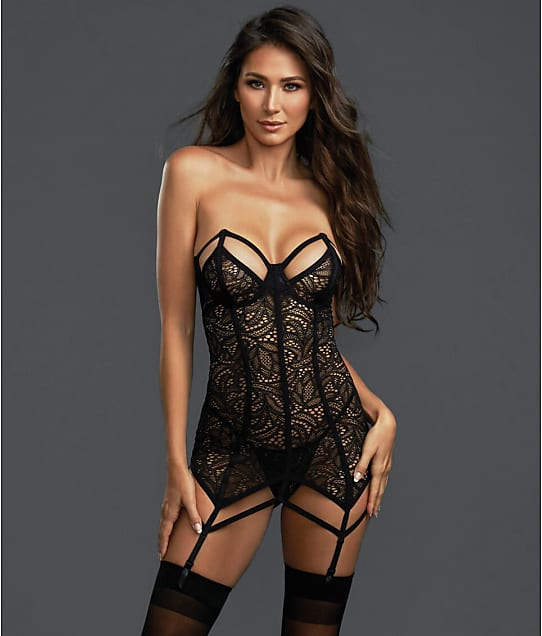 42461d9d684 Dreamgirl Fierce Bustier Garter Set