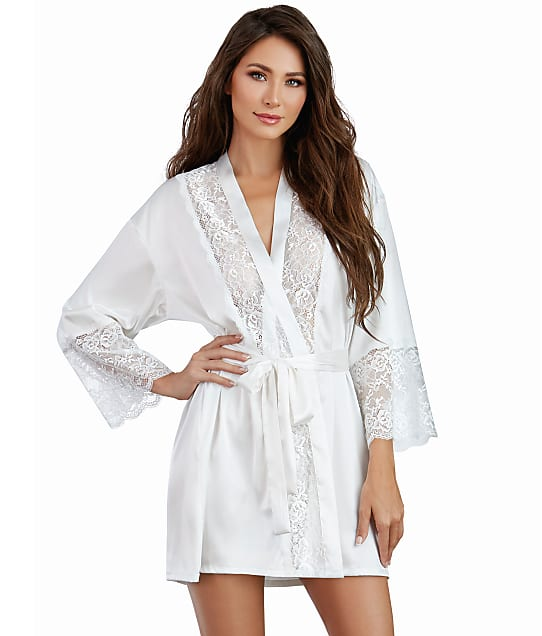 Dreamgirl: Satin And Lace Robe
