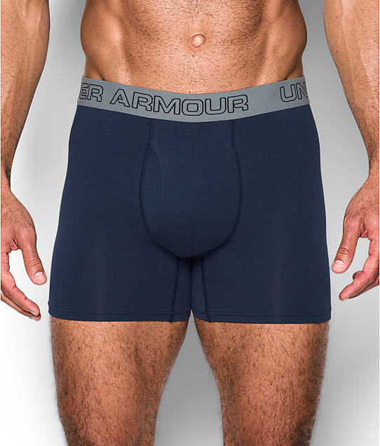 Under Armour: Charged Cotton 6'' Boxerjock Boxer Brief 3-Pack