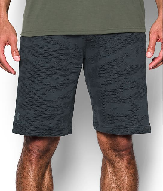 Under Armour: Sportstyle Camo Fleece Shorts