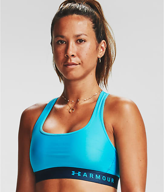 Under Armour: Armour Mid-Impact Crossback Sports Bra