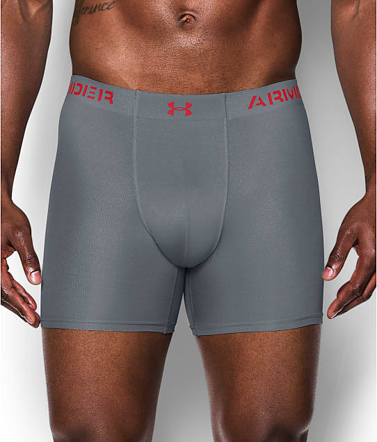 under armour underwear. under armour: armourvent mesh 6\u0027\u0027 boxerjock boxer brief armour underwear
