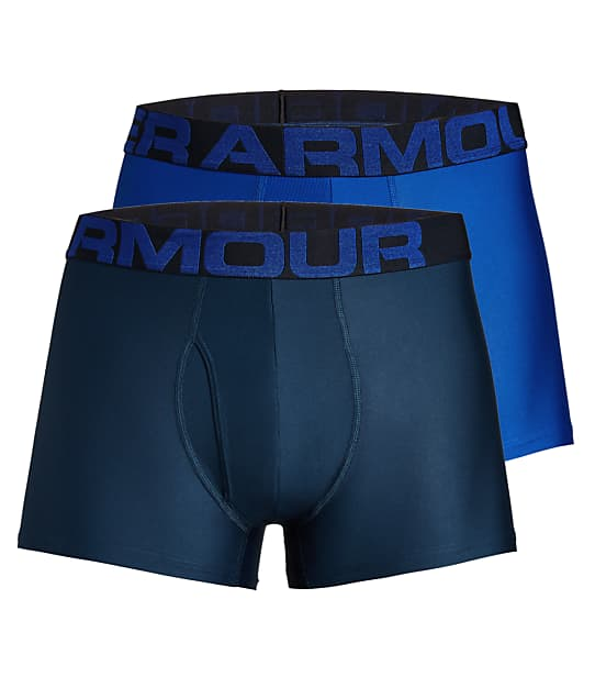 Under Armour: 3'' Tech Boxer Brief 2-Pack