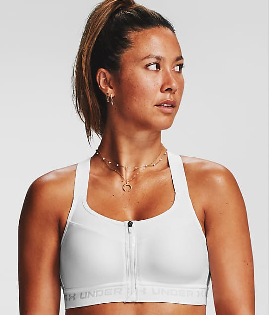 Under Armour: High Impact Racerback Zipper Sports Bra