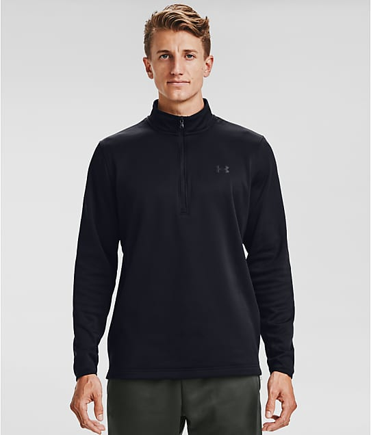 Under Armour 1/2 Zip-Up Fleece in Black 1357145