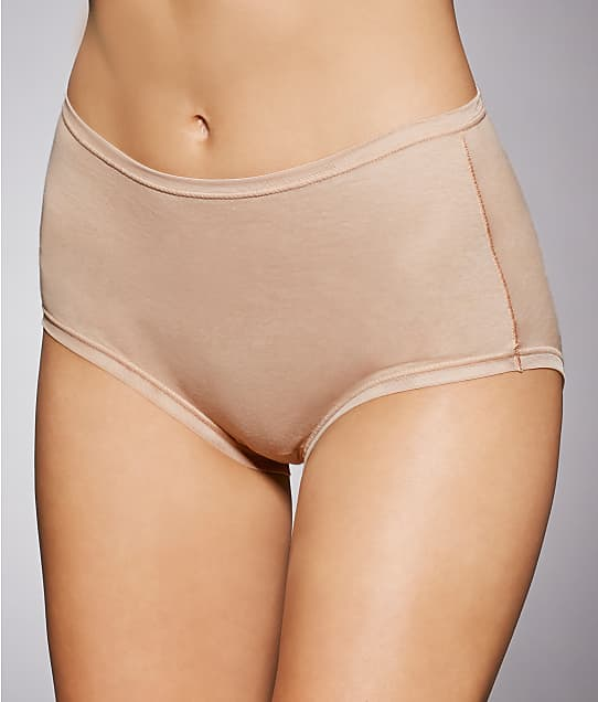 Fine Lines: Pure Cotton Full Coverage Brief