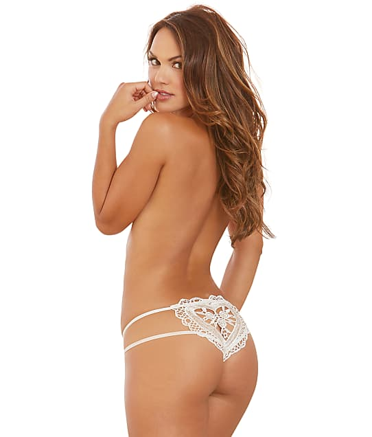 Dreamgirl: Heart Crotchless Thong