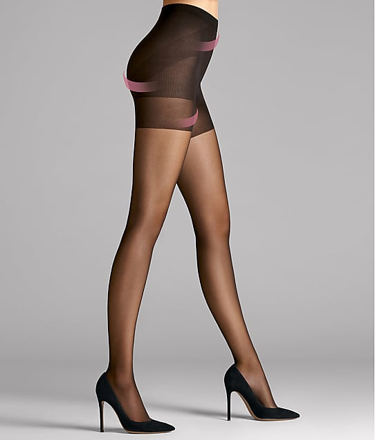 Wolford: Synergy 20 Denier Push-Up Control Top Pantyhose