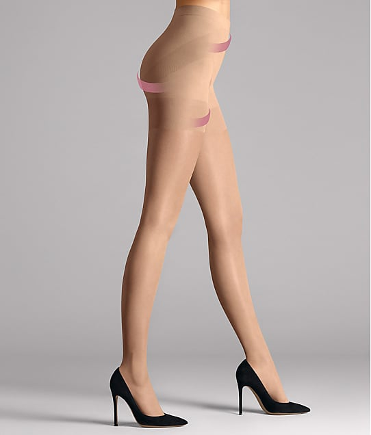 Wolford Synergy 20 Denier Push-Up Control Top Pantyhose in Cosmetic 145-30