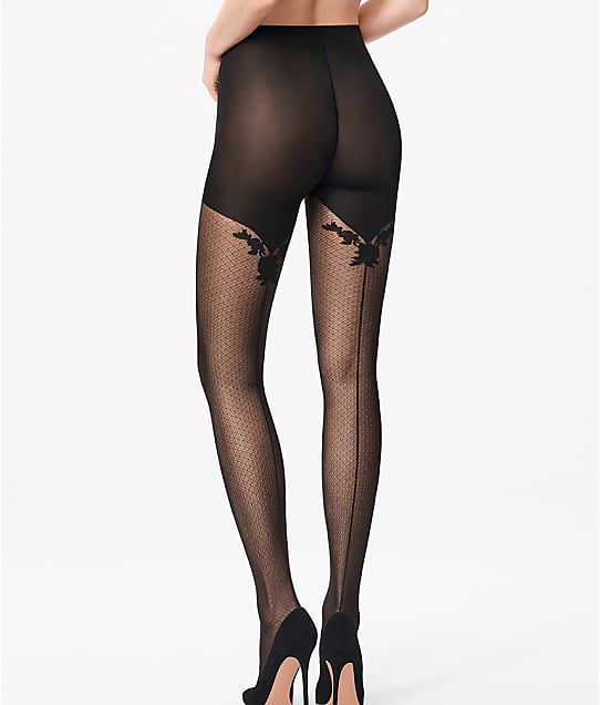 c1ca2d6bbbdac Wolford Helena Back Seam Tights | Bare Necessities (147-04)