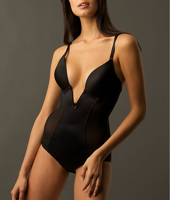 Va Bien: Firm Control Plunge Bodysuit