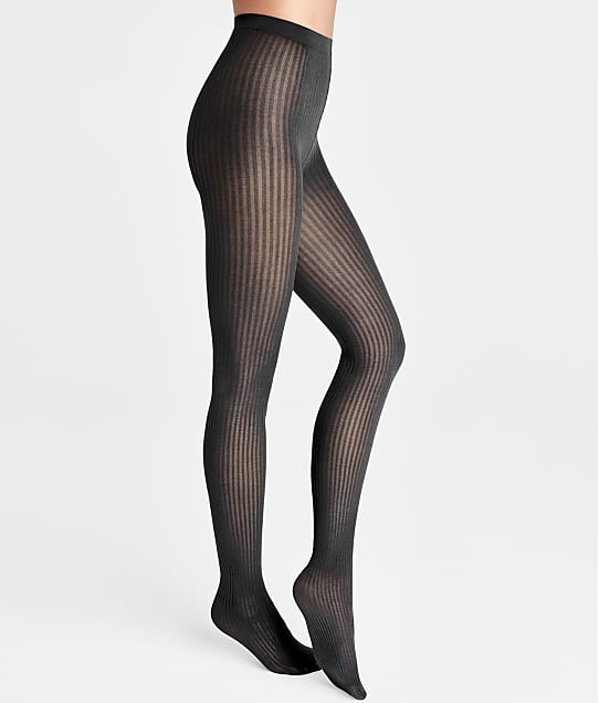 Wolford Alexis Tights in Black(Front Views) 15030