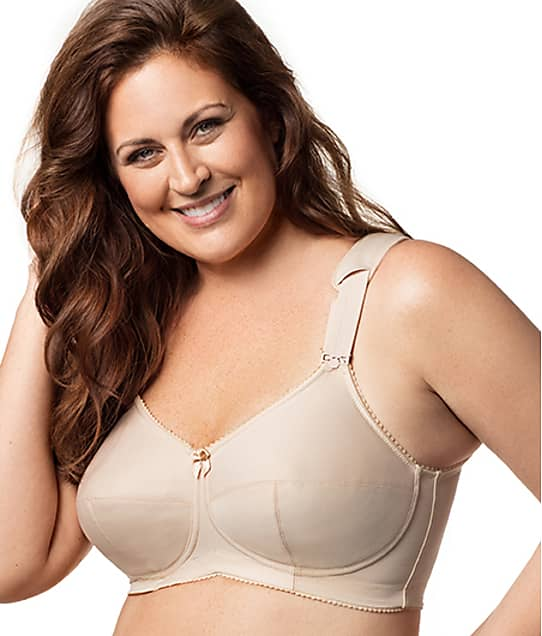 Elila Kaylee Full Coverage Wire-Free Bra in Nude(Front Views) 1505