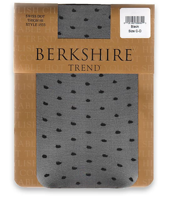 Berkshire: Swiss Dot Thigh Highs