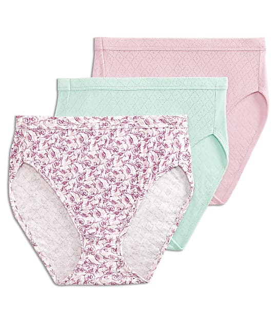 Jockey: Elance Breathe French Cut Brief 3-Pack