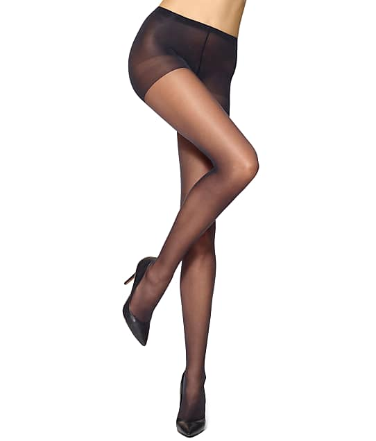 cce2bb12da1e5 HUE Run Resistance Sheer Control Top Pantyhose | Bare Necessities ...