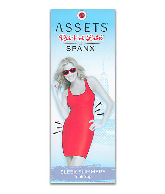 ASSETS Red Hot Label by SPANX : Sleek Slimmers Shaping Tank Slip Plus Size