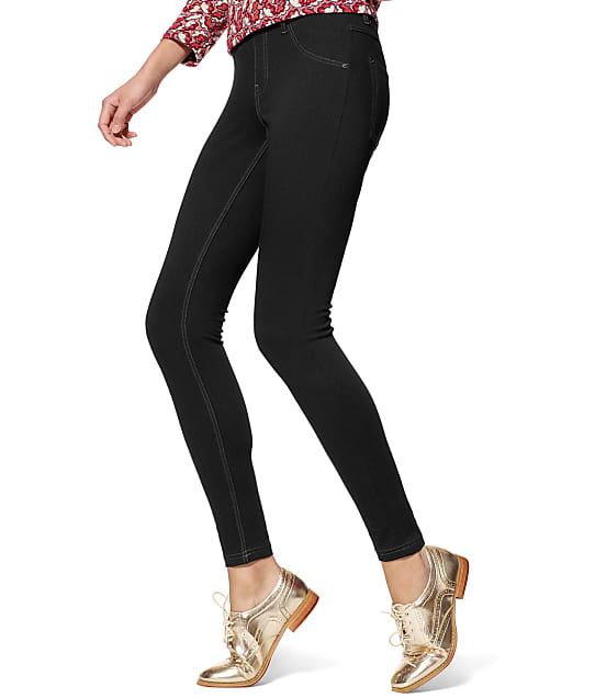 HUE: Plus Size Essential Denim Leggings
