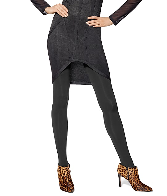 HUE: Blackout Opaque Shaping Tights