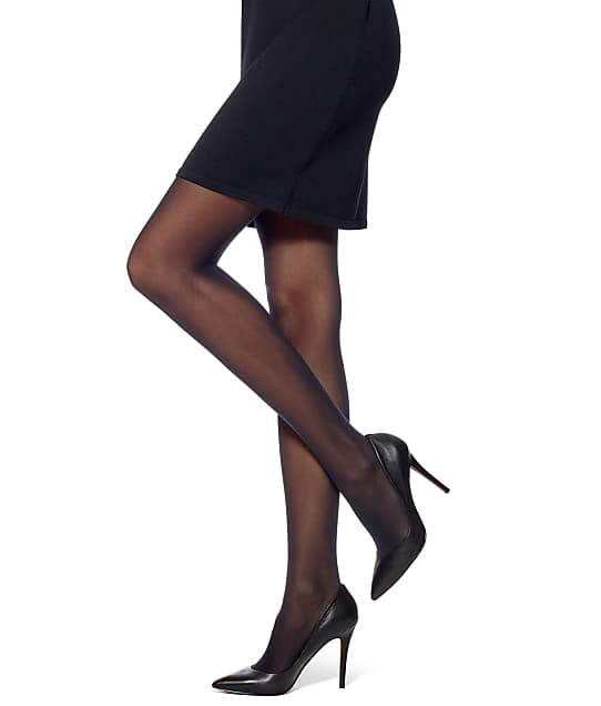 HUE: Flat-tering Fit Opaque Control Top Tights