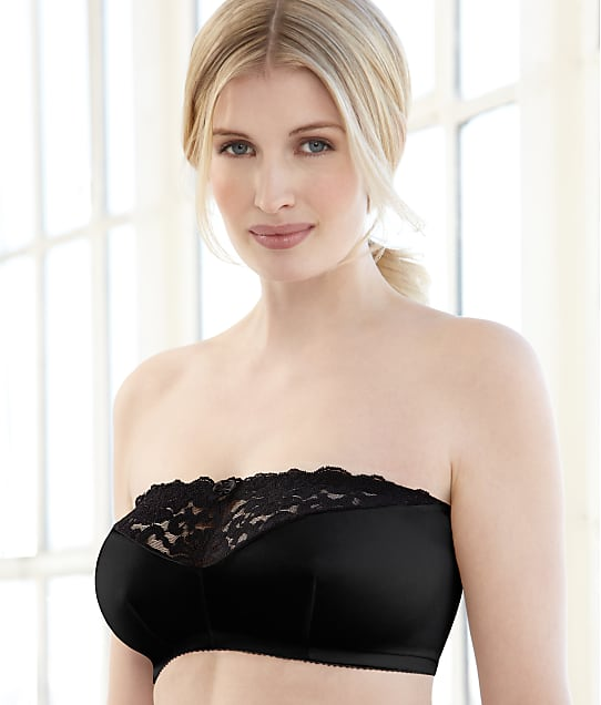 Glamorise: Complete Comfort Stay-In-Place Strapless Wire-Free Bra