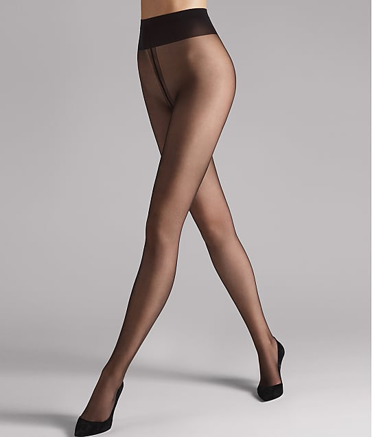 Wolford Individual 10 Denier Pantyhose in Nearly Black 183-82