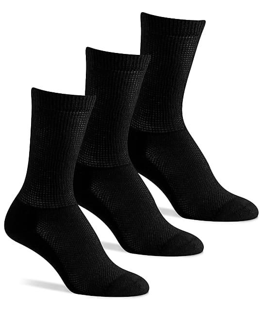 Berkshire: Diabetic Crew Socks 3-Pack