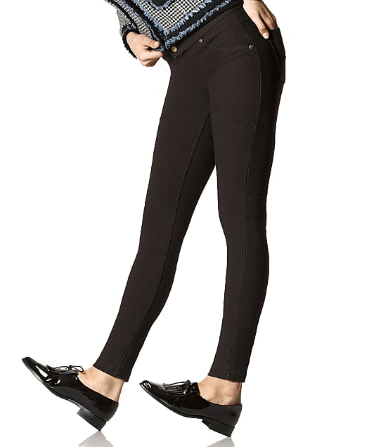 HUE: Fleece Lined Denim Leggings