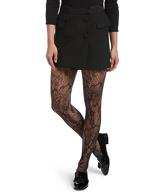 HUE: Blooming Net Tights