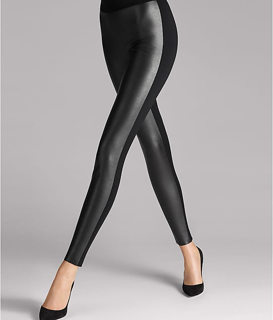 Wolford: Lindsey Faux Leather Leggings
