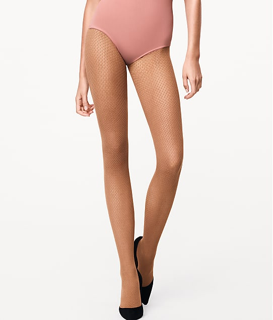 Wolford: Rhomb Net Tights