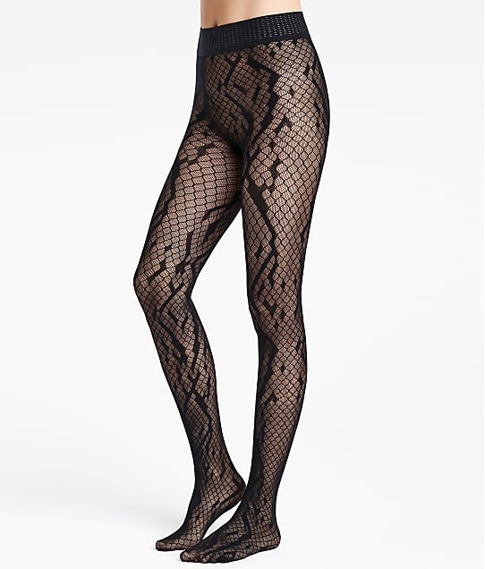Wolford: Crossband Net Tights