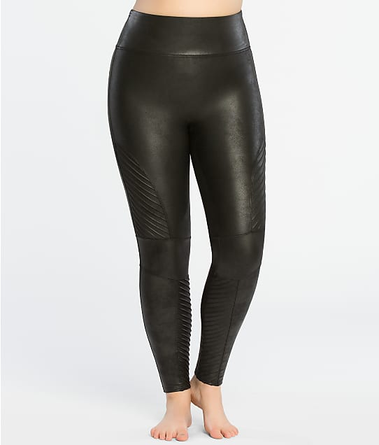 83d12ce64e3 SPANX Plus Size Faux Leather Moto Leggings