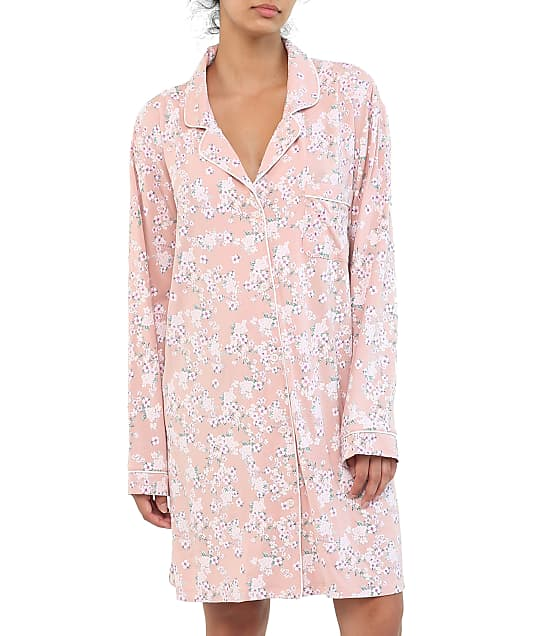 Papinelle Modal Knit Sleep Shirt in Isabelle Pink 20230-1160