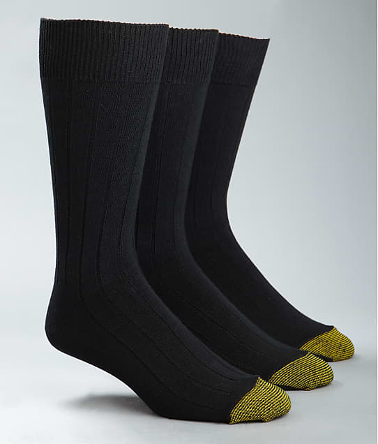 Gold Toe: Hampton Crew Dress Socks 3-Pack