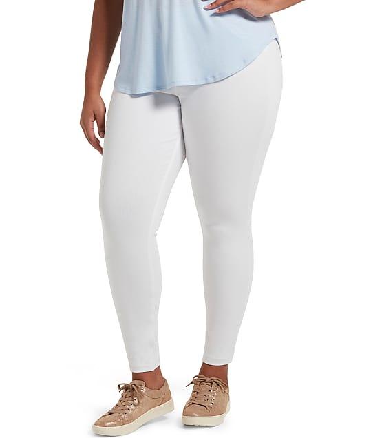 HUE: Plus Size High-Waist Denim Leggings