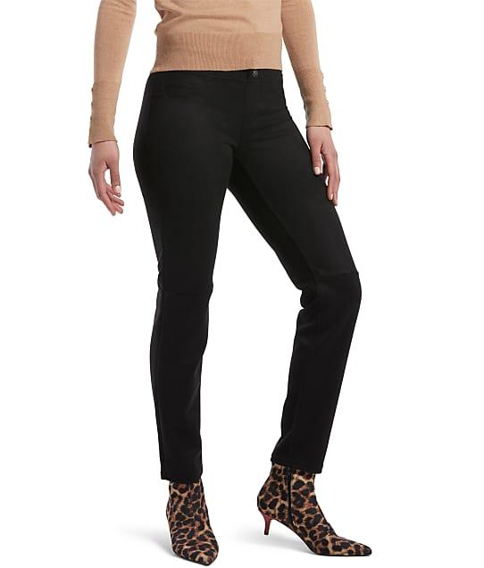 HUE: Microsuede Straight Leggings