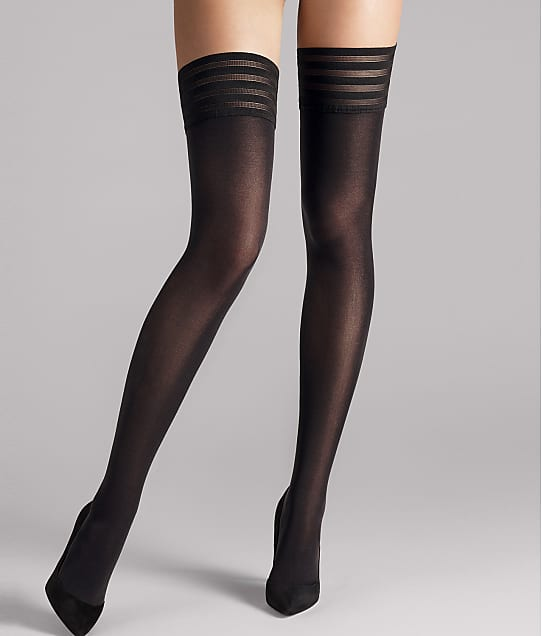 Wolford: Velvet de Luxe 50 Denier Thigh Highs