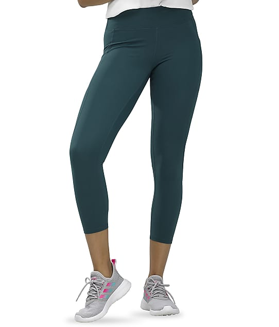 HUE: Active Pep Talking Capri Leggings
