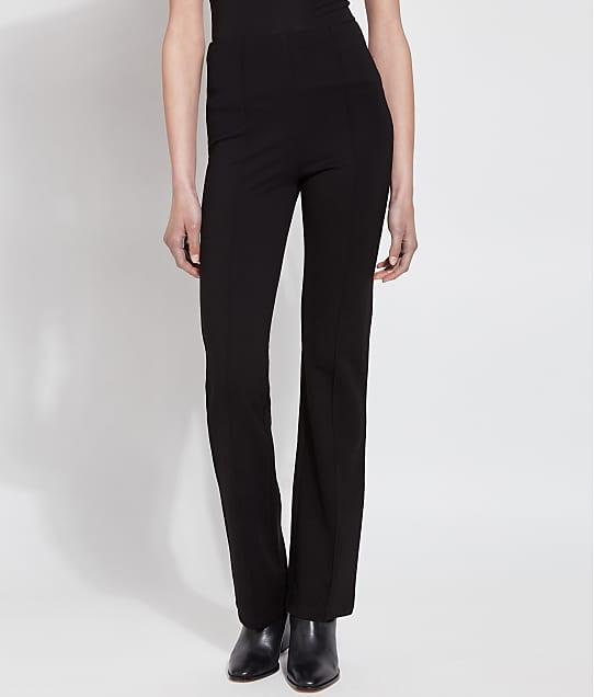 Lyssé Medium Control Elysse Wide Leg Ponte Pants in Black(Front Views) 2288