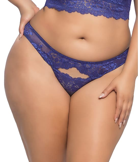 Real Lingerie: Plus Size Josilyn Lace Thong