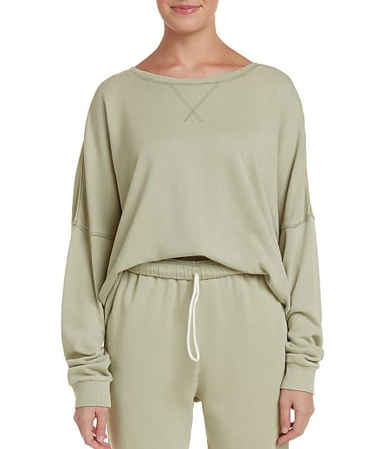 Honeydew Intimates Beach Bum Sweatshirt in Birch 23116