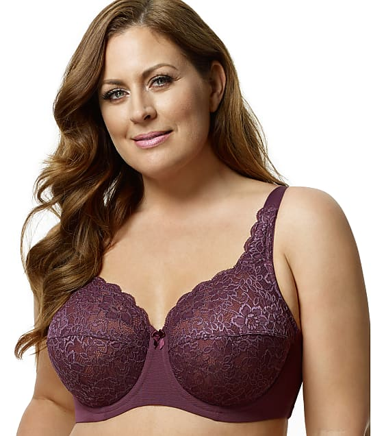 Elila: Isabella Lace Full Coverage Bra