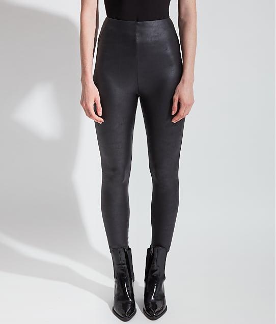 Lyssé: Plus Size Matilda Medium Control Vegan Leather Leggings