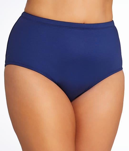 24th & Ocean: Plus Size Solid Bikini Swim Bottom